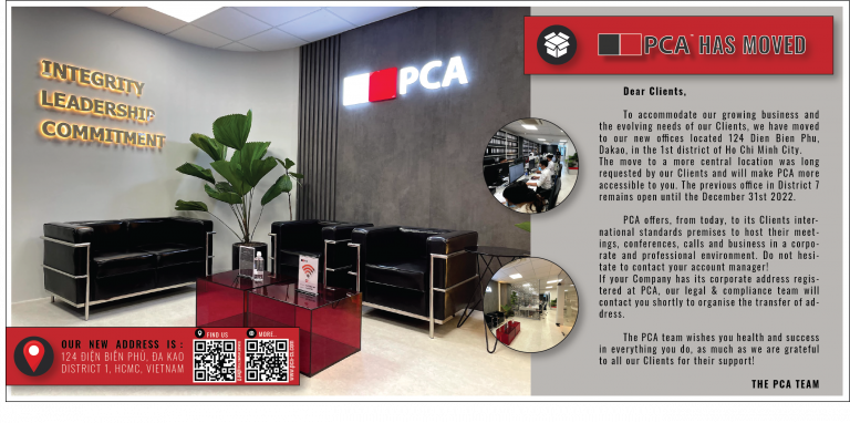 [PCACS] PCA has moved to serve you better!